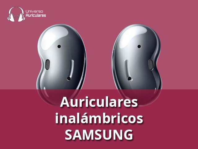auriculares inalambricos Samsung