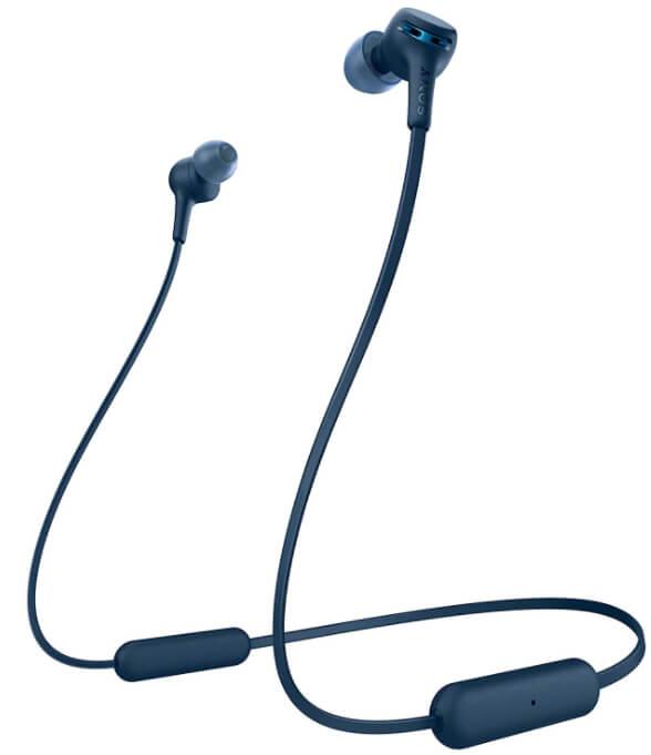 Auriculares de botón Sony WIXB400 inalámbricos